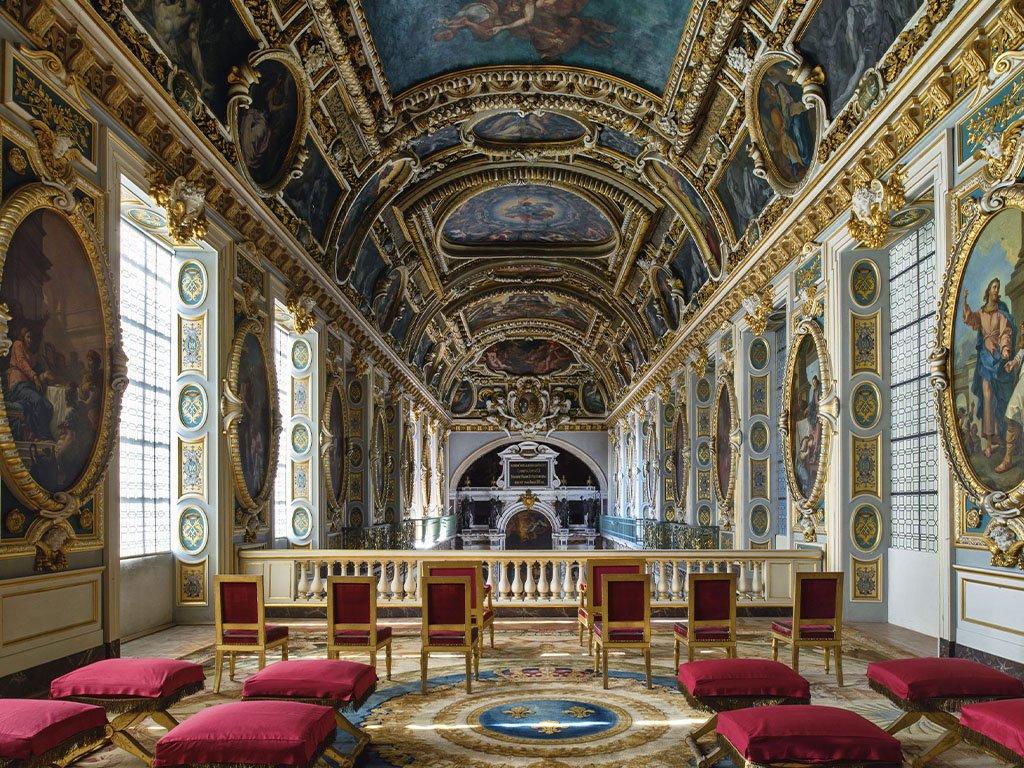 Экскурсия в дворец Фонтенбло
