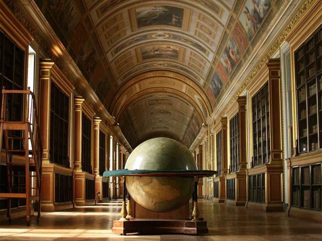 Библиотека замка Фонтенбло