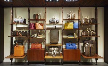 До Нового года в Париже будет работать бутик Louis Vuitton для путешественников (ФОТО)