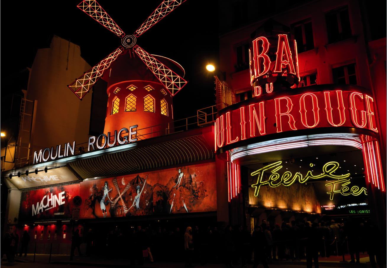 Развлечение в Парижских Кабаре