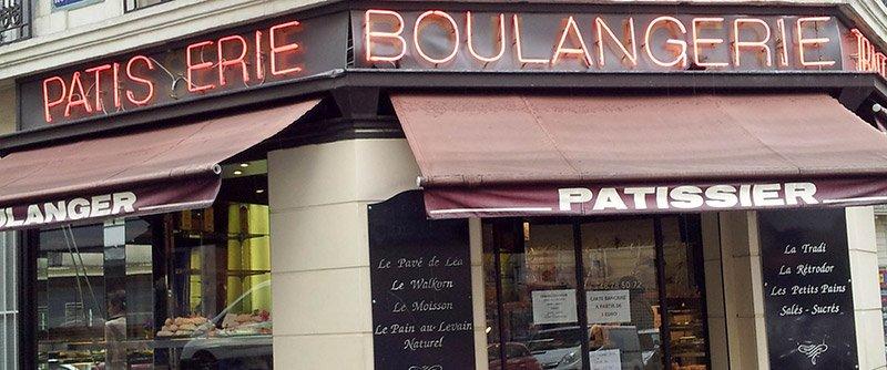 Hubert - булочная в Париже