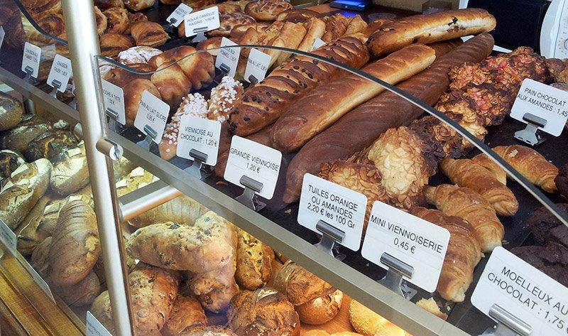 Разновидности французского хлеба
