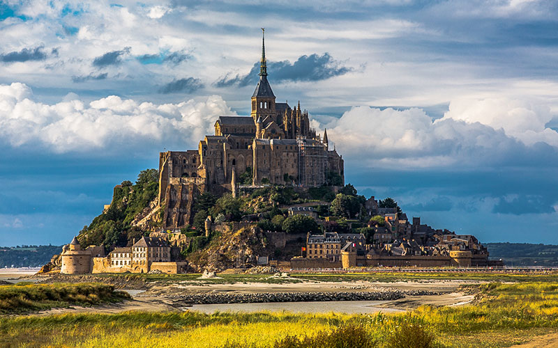 Мон-Сен-Мишель аббатство