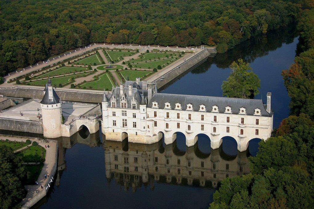Замок Шенонсо, замки луары