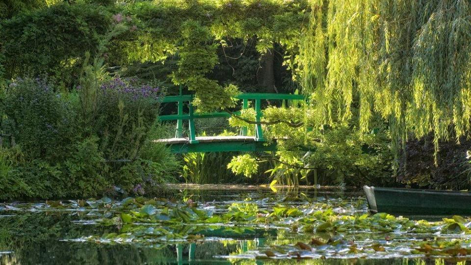 Сад Моне, Нормандия, Франция