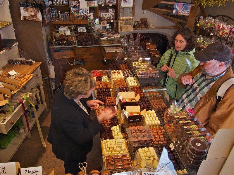 Брююге шоколад