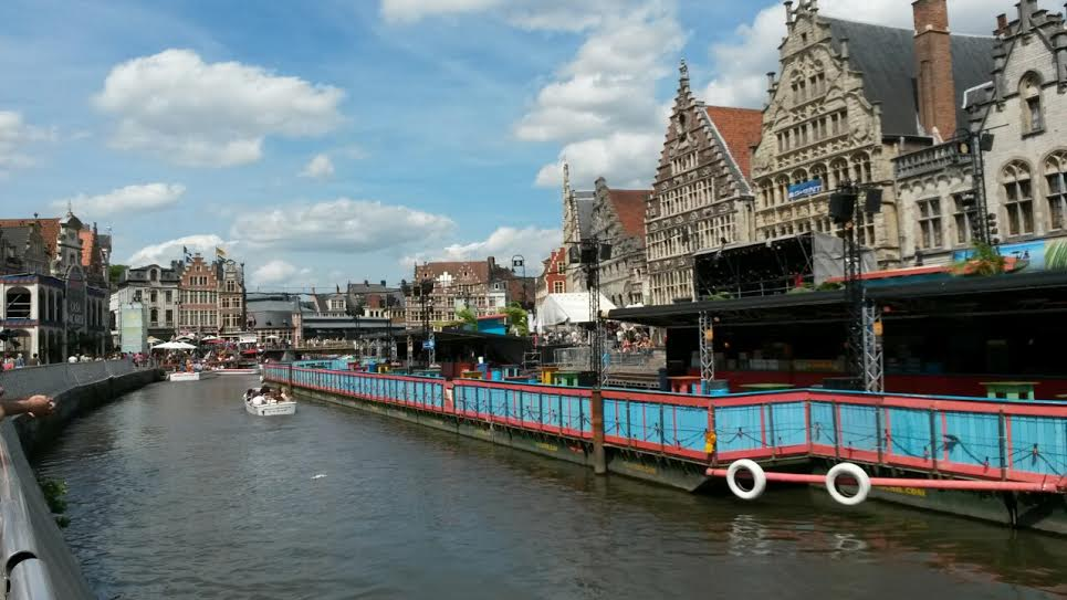 Красота города Гент