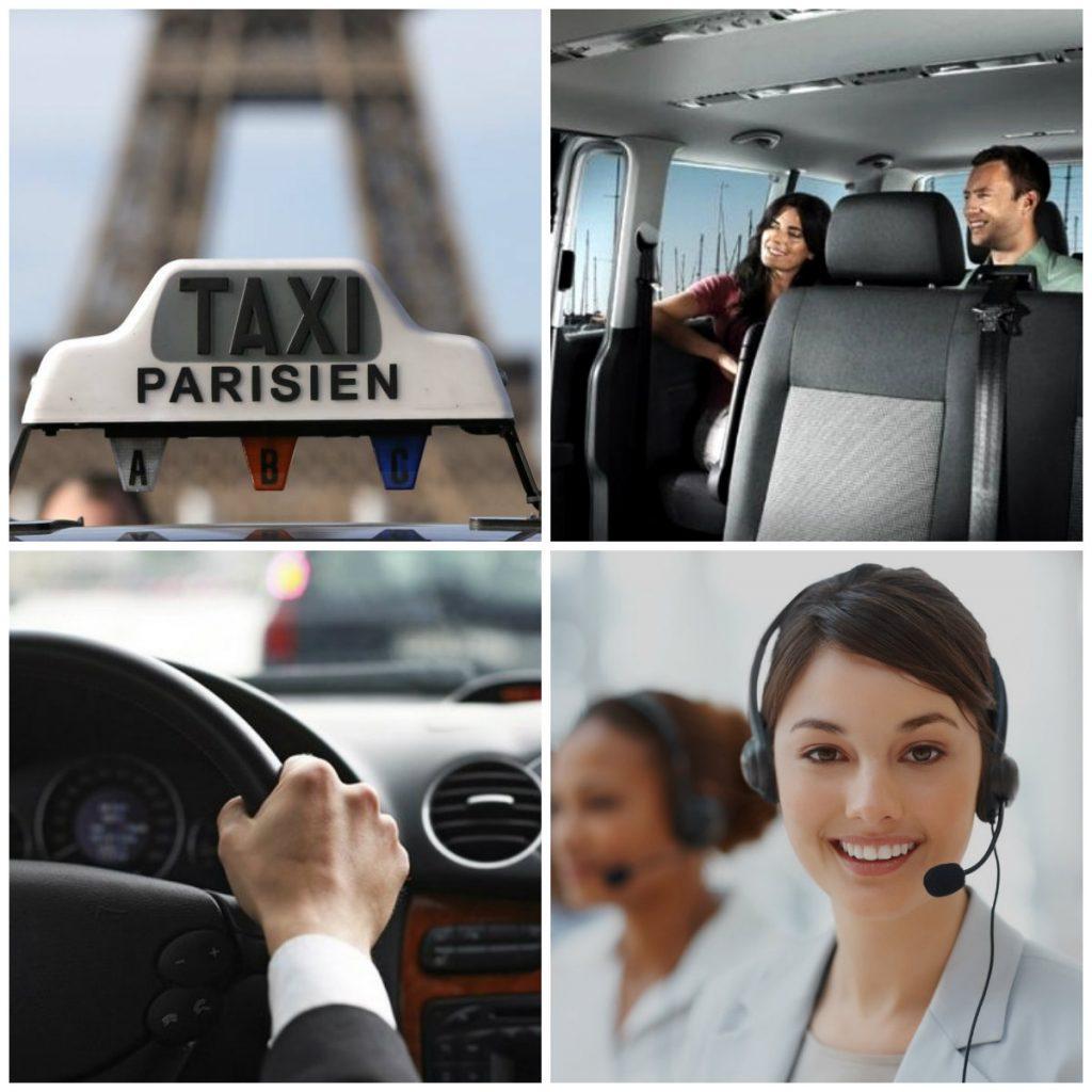 Такси в аэропорт Париж