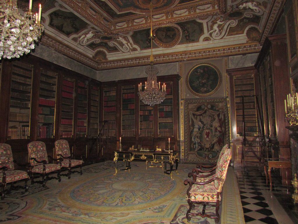 Библиотека замка Во-ле-Виконт