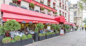 Где можно поесть поздно вечером в Париже?