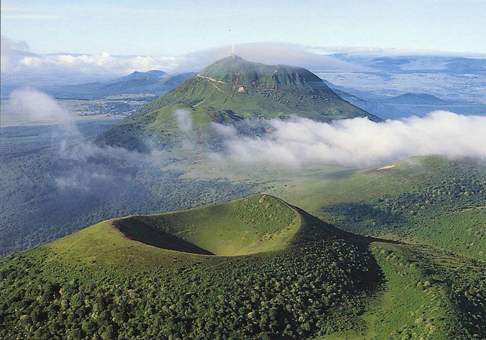 Региональный природный парк вулканов, Овернь