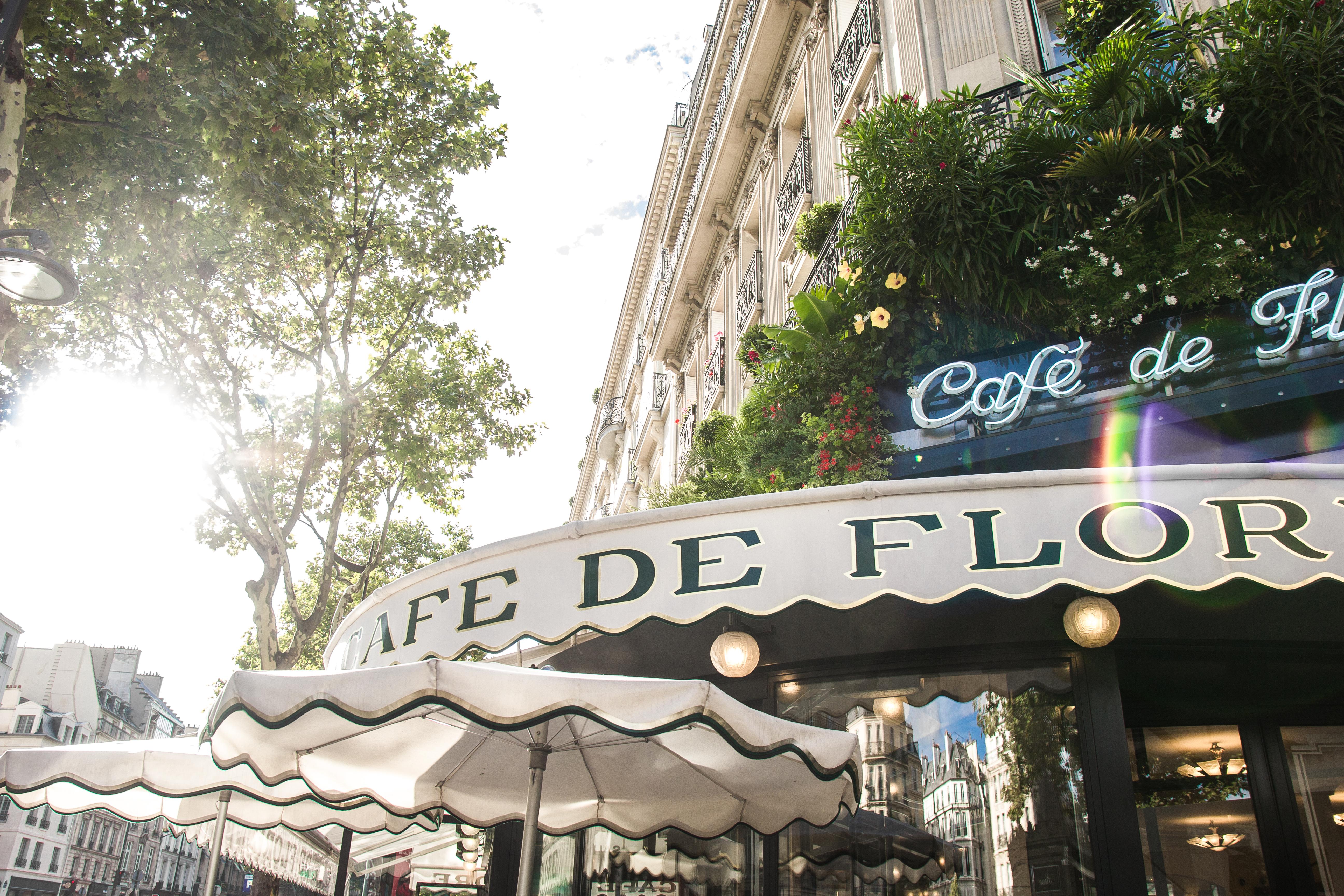 кафе де Флор, Сан Жермен де Пре